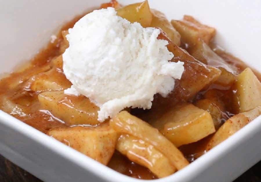 como preparar manzanas caramelizadas al horno , manzanas caramelizadas en horno