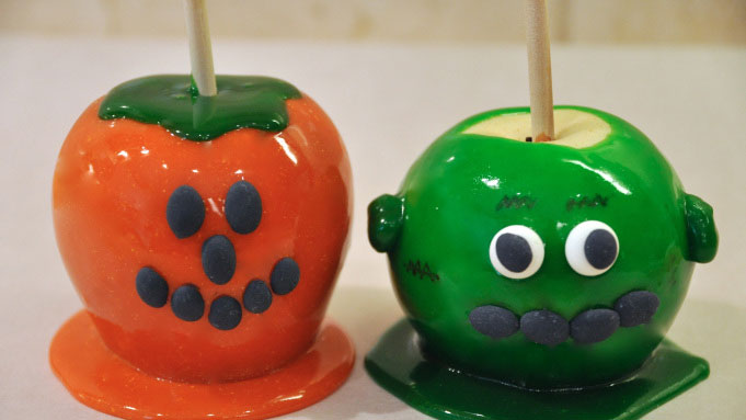 como preparar manzanas acarameladas de colores, como se hacen las manzanas acarameladas de colores