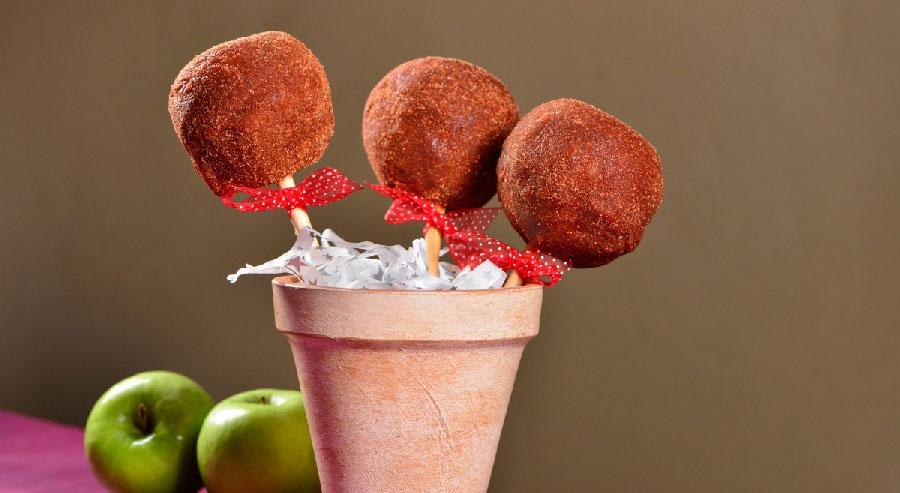 cuantas calorias tiene una manzana cubierta de chamoy