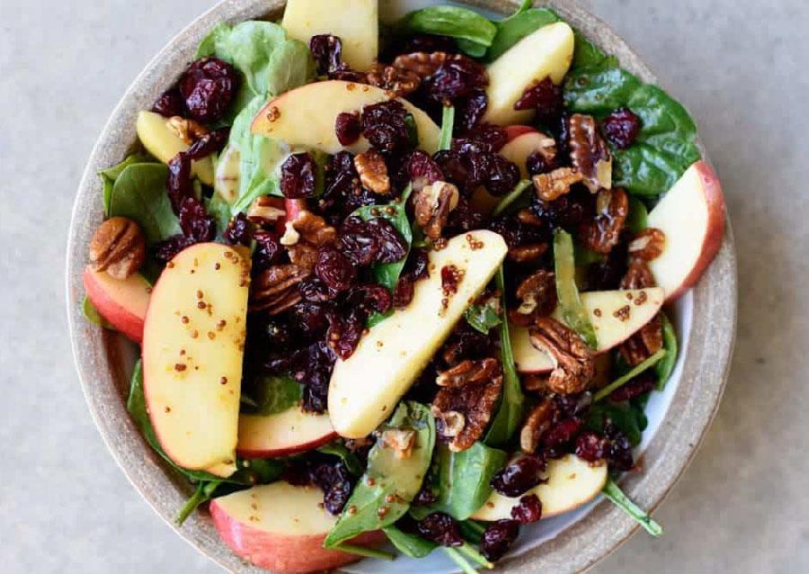 receta de ensalada de manzana