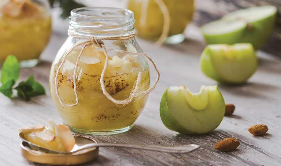 pure de manzana reineta