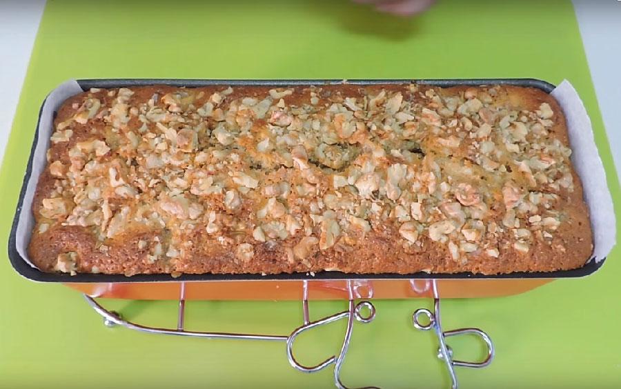 receta de manzanas y nueces