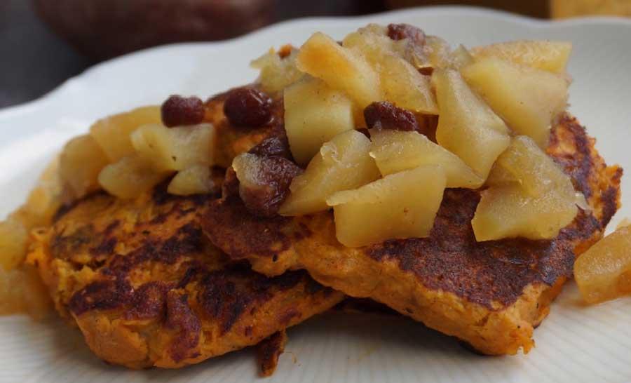 receta de compota de manzana al horno