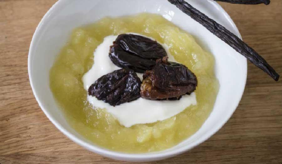 receta de compota de manzana y ciruela