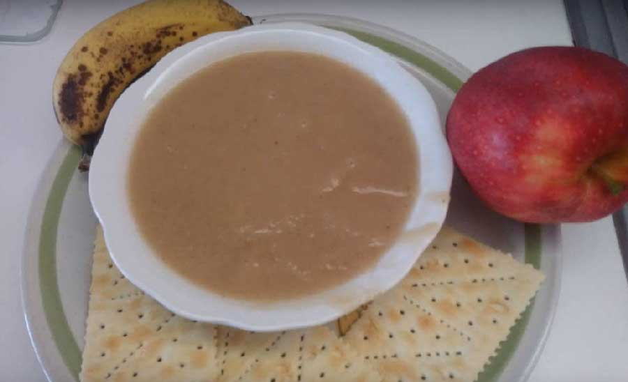 receta de compota de manzana y platano