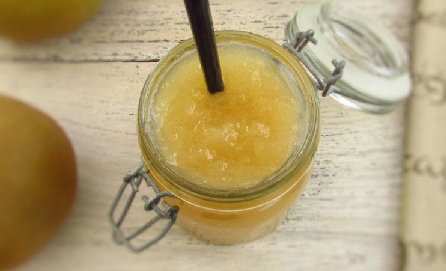 receta de mermelada de manzana reineta