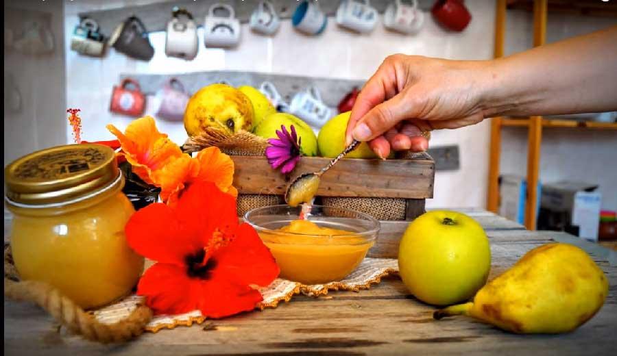 receta de mermelada de manzanas y peras