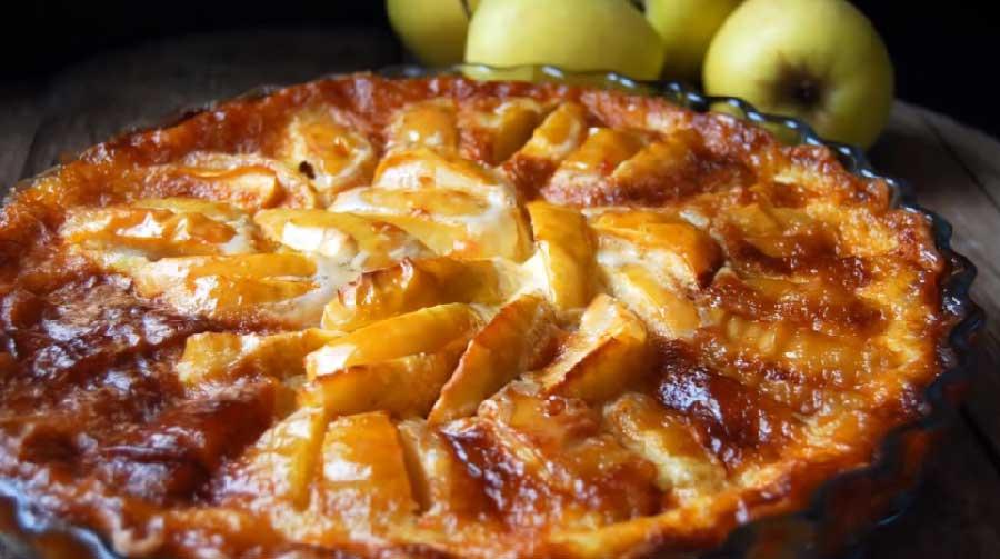 tarta de manzana francesa receta